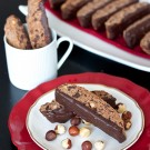 Chocolate Hazelnut Biscotti