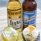 Blue Moon and Corona Cupcakes