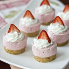 Strawberry Cheesecake Bites