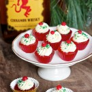 Fireball Jello Shot Cupcakes