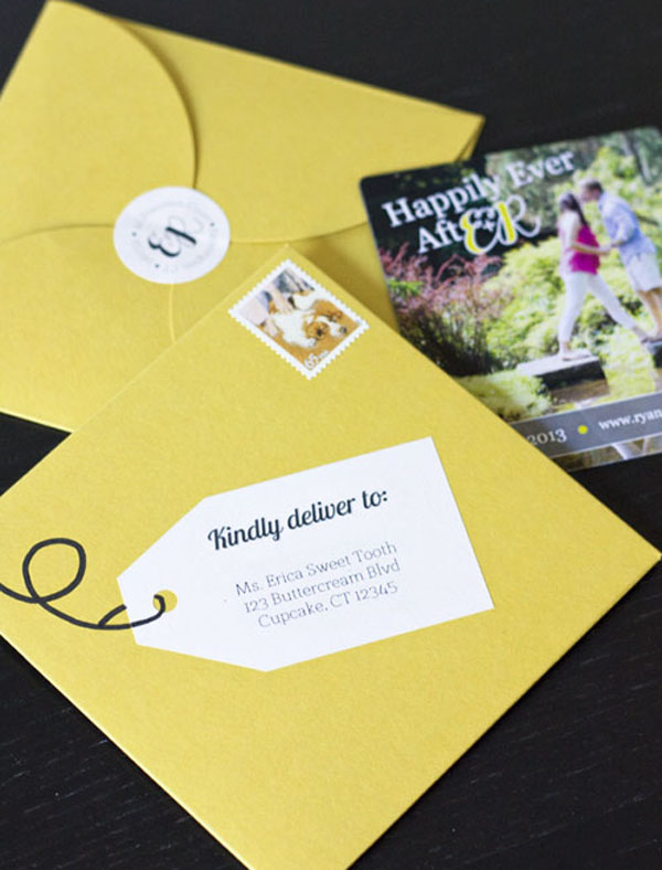 Erica's Sweet Tooth » Wedding Sweets: Save the Date Envelopes