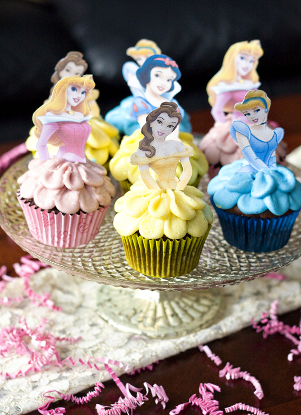 Ericas Sweet Tooth Disney Princess Cupcakes