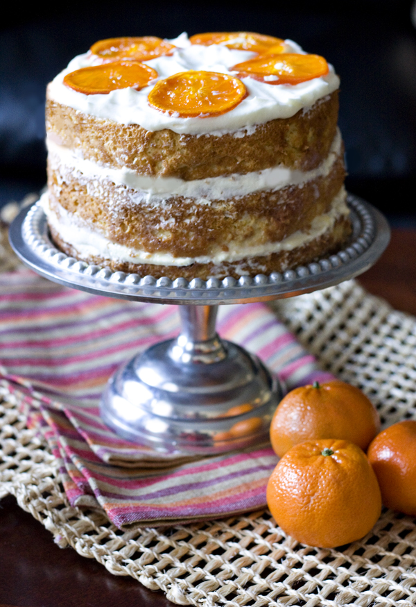 Erica S Sweet Tooth Orange Tres Leches Layer Cake