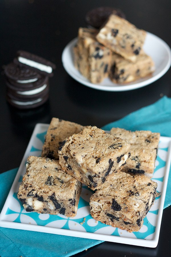 Cookies and Cream PB Blondies 1004