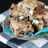 Cookies and Cream PB Blondies 974 copy