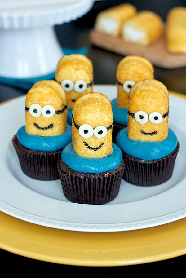 Erica S Sweet Tooth 187 Despicable Me Minion Cupcakes