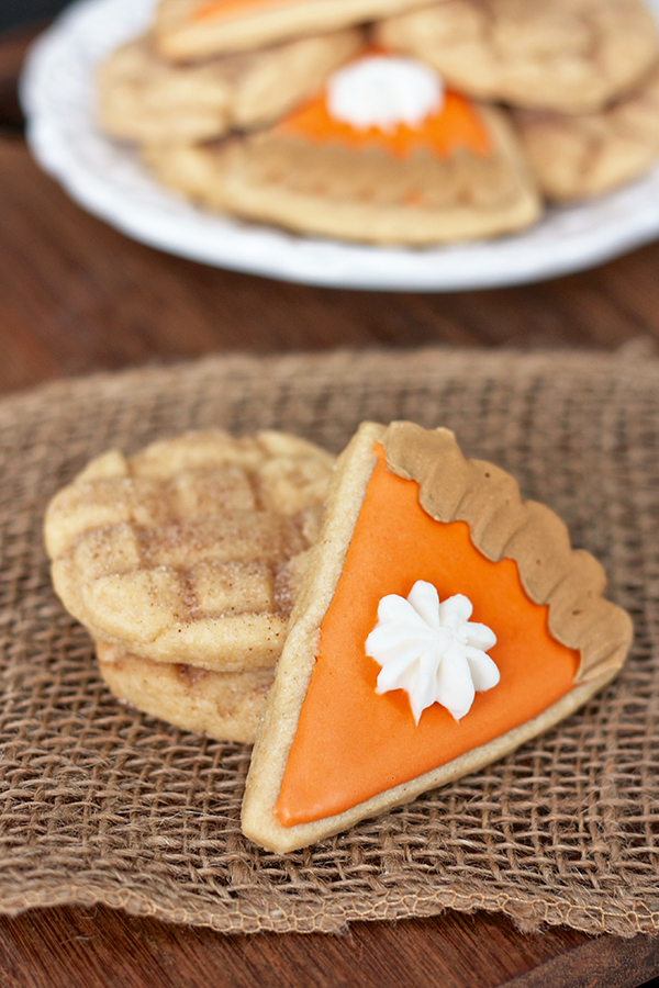 Erica S Sweet Tooth 187 Pumpkin And Apple Pie Sugar Cookies