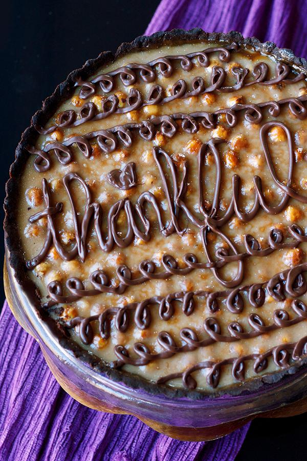 Caramel Hazelnut Tart 2472 copy