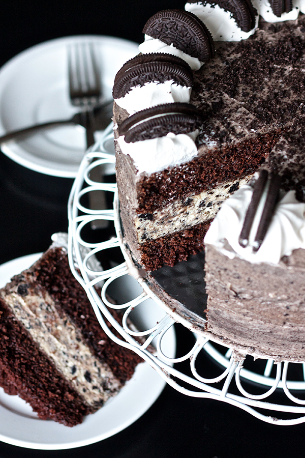 Ericas Sweet Tooth Oreo Cheesecake Layer Cake