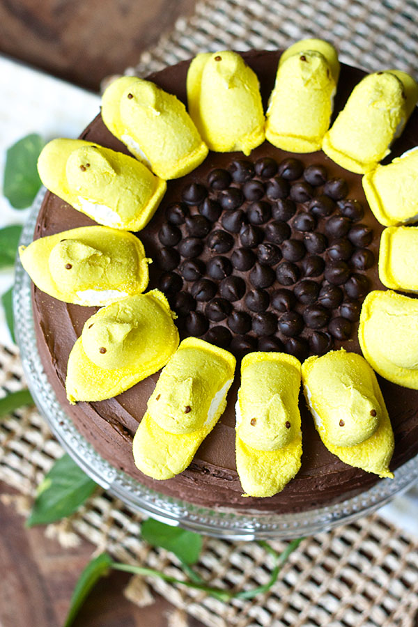 Sunflower Peep Cake 6520 copy