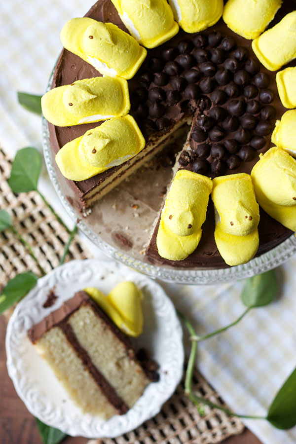 Sunflower Peep Cake 6552 copy