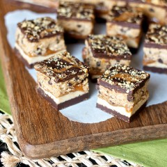Chocolate Cookie Butter Cookie Dough Bars 7859 copy