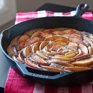 Cinnamon Apple Skillet Cake 8825 copy