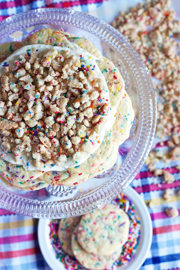 Funfetti Cookie Statck Cake 8551 copy