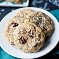 Coconut Oil Chocolate Chip Cookies 10591 copy