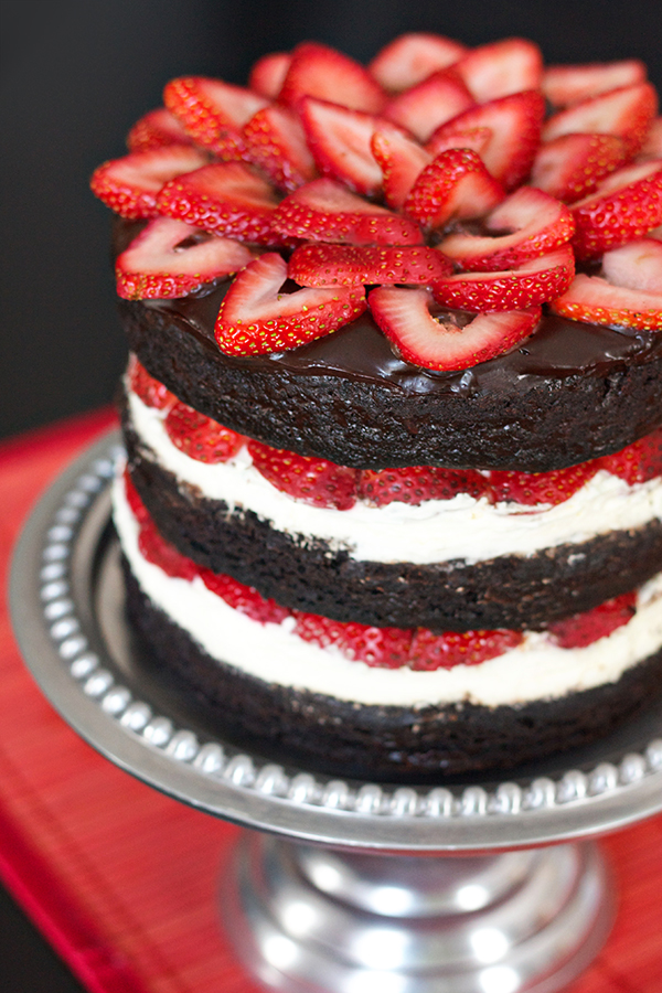 Strawberry Brownie Cake 11490 copy