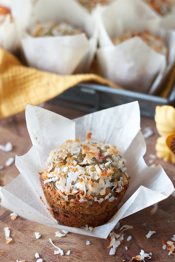 Banana Coconut Muffins 11607 copy