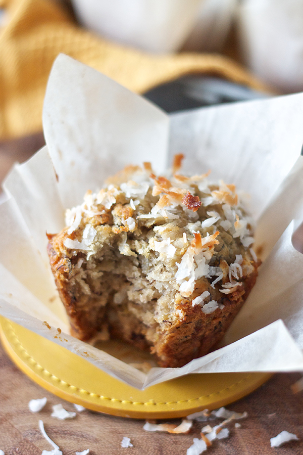 Banana Coconut Muffins 11617 copy