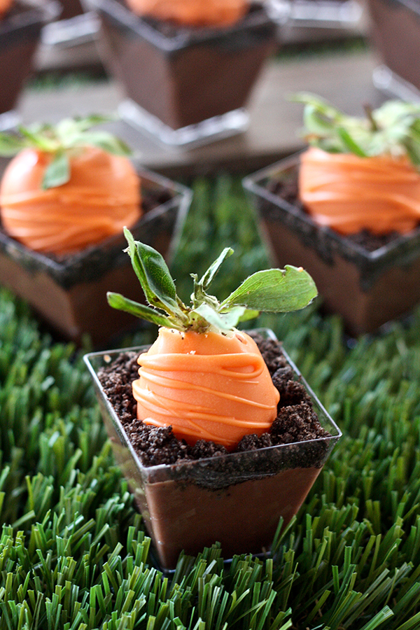 Erica S Sweet Tooth 187 Carrot Patch Dirt Pudding Cups