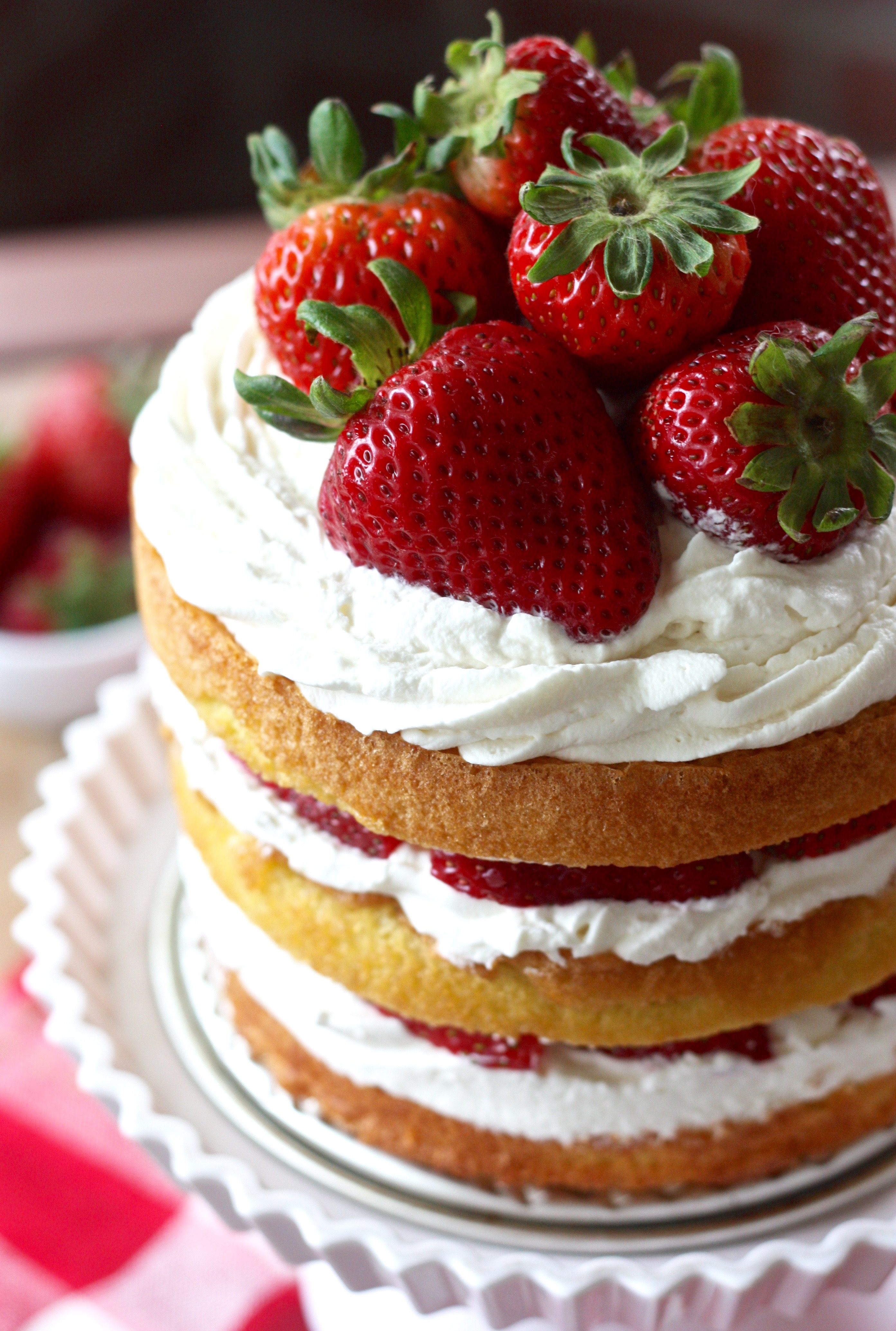 Erica's Sweet Tooth » Strawberry Shortcake Layer Cake