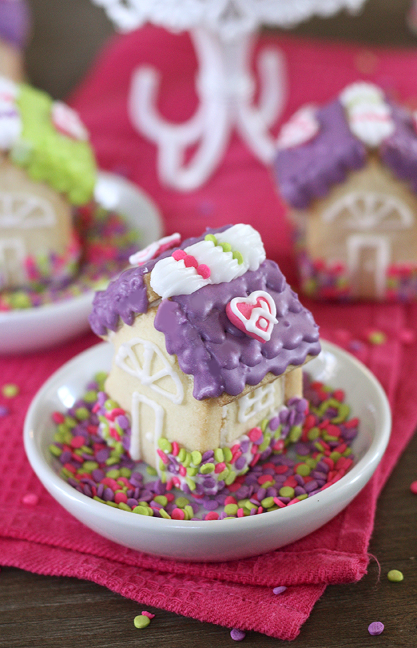 Stay Home Sugar Cookie Houses